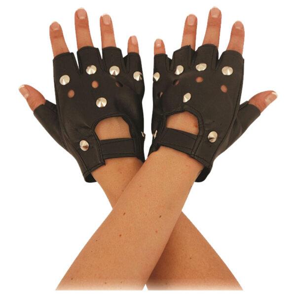 Fingerless Bker Gloves