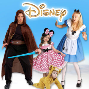 Disney; Costumes, Toys and Accessories for men, women, boys and girls