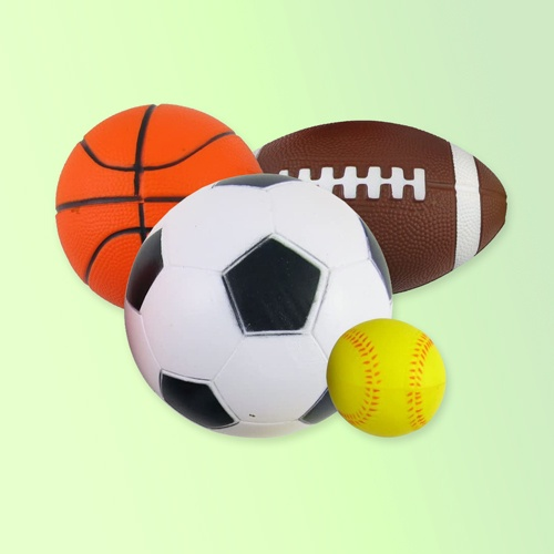 Sports Accessories; Football, Rugby Ball, Baseball, Volleyball, Beach Ball and Other Accessories