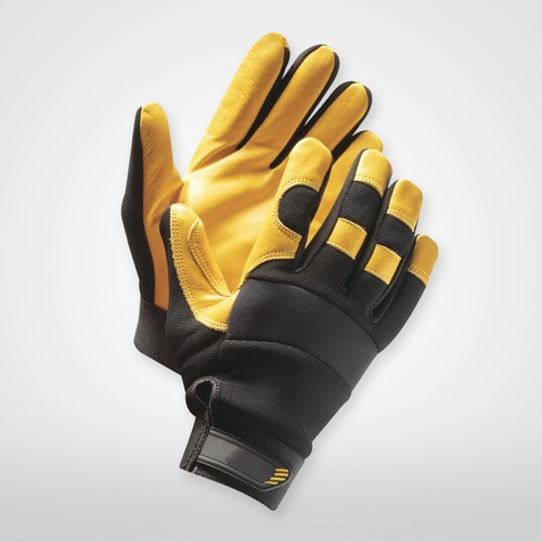 Work Gloves; Heavy Duty Safety Gloves