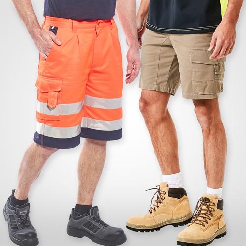 Workwear Shorts; Hi Vis Shorts, Heavy Duty Shorts, Work Pants
