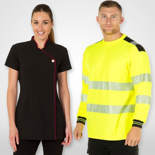 Workwear Tops & Tunics; Hi Vis Shirt, Heavy Duty Tops, High visibility Tees for Work