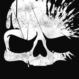 Call of Duty Broken Skull Print Towel