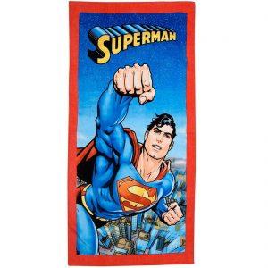 Superman Character Beach Towel