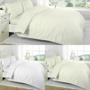 Luxury Plain Bedding Flat Sheet
