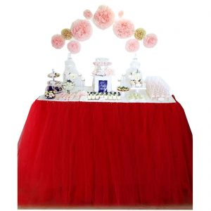Tulle Tutu Table Skirt 30 Inches