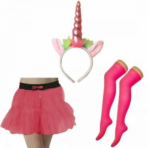 Ladies Unicorn Costume Accessory Set