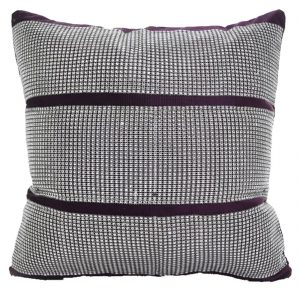 Luxury Diamond Stripe Chenille Cushion Covers