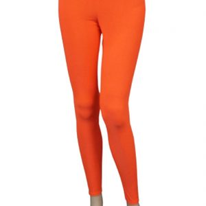 Girls Microfiber Lycra Neon Leggings