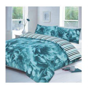 Rose Floral Print Bedding Set