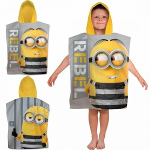 Children Despicable Me Minions Poncho