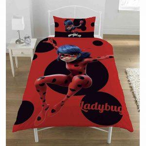 Miraculous Lady Bug Printed Bedding