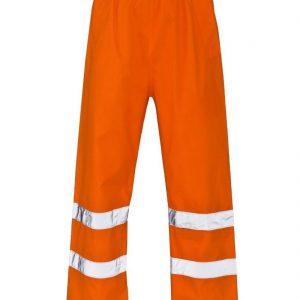 Adult Hi Vis Elasticated Trouser