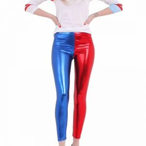 Womens Metallic Leggings