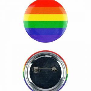 Gay Pride Rainbow Badge 4cm