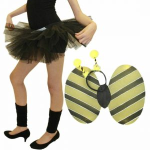 Girls Bumble Bee Accessory Set