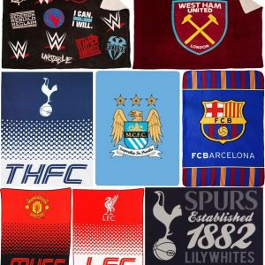 Football Club WWE FC Print Fleece Blanket