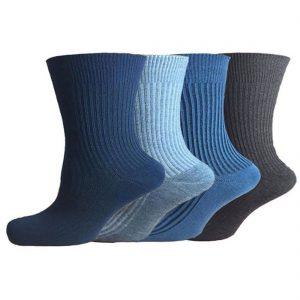 Mens Non Elastic Socks 12 Pairs