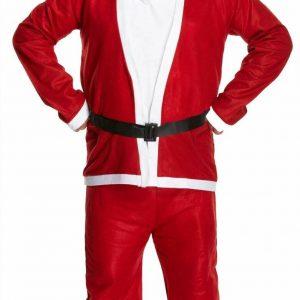 Adults Dress UP Santa Suit 5Pcs Costume