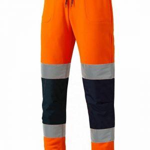 Hi Vis Viz Joggers Slim Fit Trousers