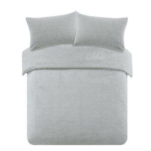 Teddy Fleece Duvet Cover With Pillow Case Bedding