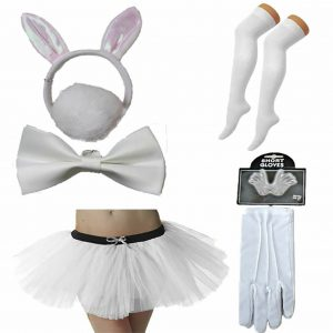 Women Easter Bunny Costume Set