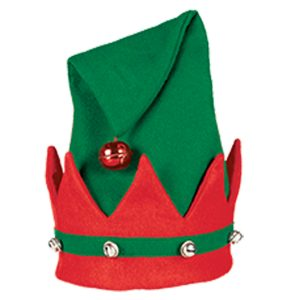 Adults Elf Hat With Bells