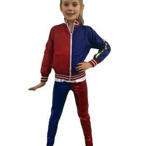 Kids Red Blue Costume