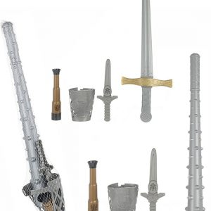 Children T Knights Warrior Weapons Toys