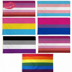 LGBT Gay Pride Flags 5×3 Ft
