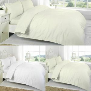 T200 Plain 16 Inch Deep Fitted Sheet