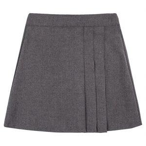 Girls School Uniform Box Pleated Skirt