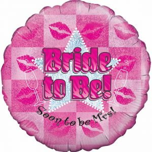 Bride To Be Foil Balloon 18 Inches