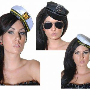 Women Sexy Marine Police Hat