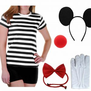 Women Mouse Costume Accessory Set