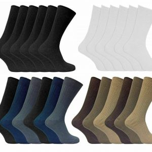 Men Bigfoot Non Elastic Socks