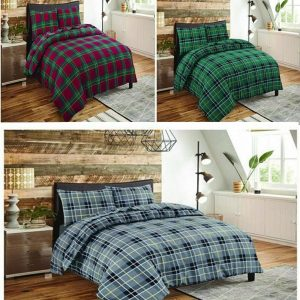 Thermal Brushed Flannelette Fitted Flat Sheet Set