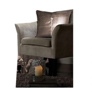 Faux Velvet Paloma Curtains And Cushion Cover
