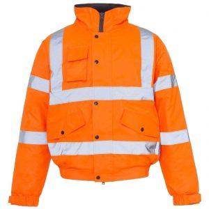Hi Vis Waterproof Rain Coat Trouser