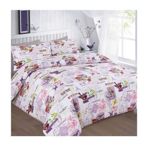 Tilly Birds Duvet Cover With Pillow Cases Set