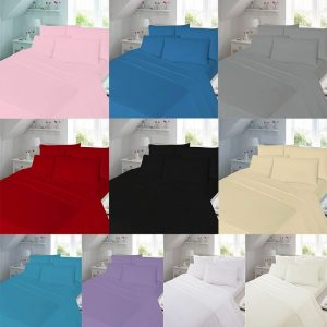 Plain Thermal Flannelette Flat Sheet