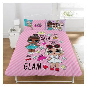 LOL Surprise Glam Duvet Covers Set With Cushions