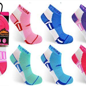 Womens Hiking Sole Jogging Sports Trainer Socks