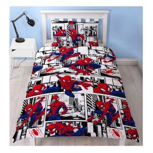 Marvel Spiderman Metropolis Duvet Cover Set