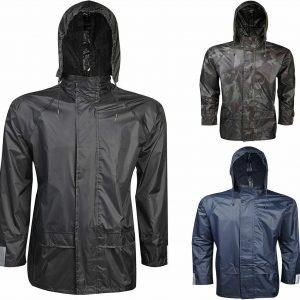 Adult Rain wear Hooded Jacket