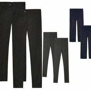 Adults Slim Fit Uniform Trouser Pants