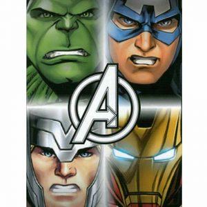 Official Disney Avengers Print Towel