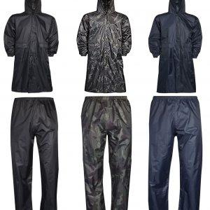Unisex Long Coat Trouser