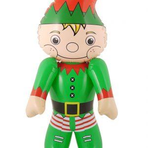 Inflatable Santa And Elf Christmas Toys